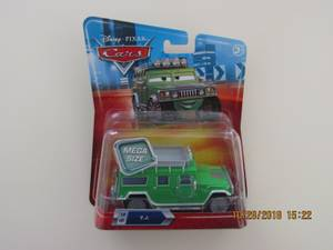 Used, Collectible / Rare!  Mattel / Disney Pixar Cars -- TJ Hummer Mega Size (Valencia) for sale
