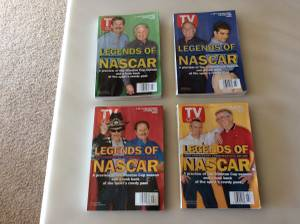 1998 TV Guide Legends/NASCAR (Hudsonville) for sale