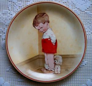 Mabel Lucie Attwell Plate. Thank God For Fido (Frankford Ave., Baltimore) for sale
