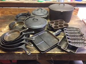 Wanted - Cast Iron Cookware (Worcester) for sale