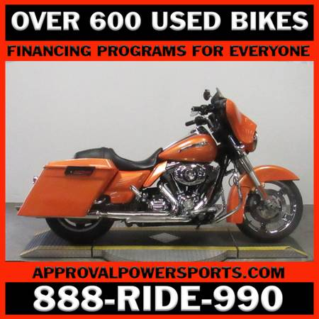 2011 harley-davidson flhx - street glide - motorcycles/scooters - by...