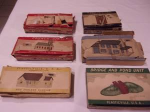 Plasticville Buildings -- Plasticville USA (Surprise) $20