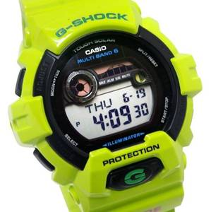Used, Casio G-Shock G-Lide Moon Tide And Multiband 6 Solar GWX-8900C-3 RARE (Seatac) for sale  Seattle