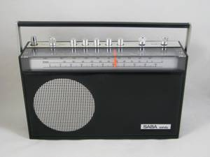 VINTAGE RADIO SABA SANDY AUTOMATIC G PORTABLE RADIO GERMANY (Pullman), used for sale