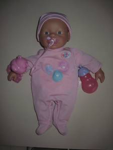 Used, Baby Born doll (Elgin (near Randall Rd)) for sale