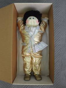 Elvis' Graceland Edition Cabbage Patch Kid NEW IN BOX (Brandywine) for sale