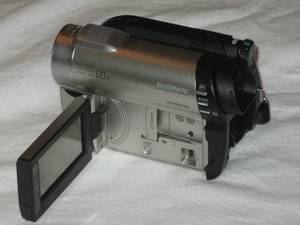 Used, Sony mini dvd Camcorder Memory Stick Card A1 CONDITION camera (LAX) for sale