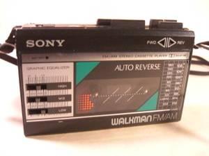 Sony Walkman FM/AM stereo cassette player (Helena) for sale