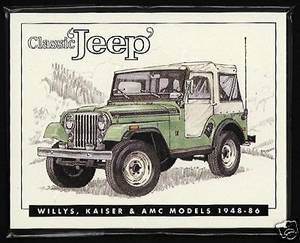 Classic Jeep Willys, Kaiser AMC 1948-86 (Goldsboro, NC) for sale