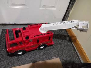 Large Tonka 90219 Steel Mighty Fire Truck (Edgewater) for sale