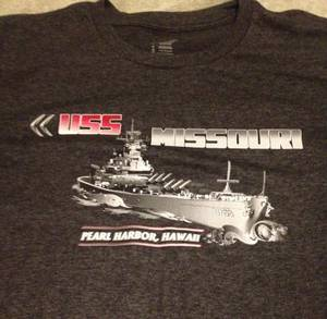 USS Missouri Battleship T Shirt Size XL Nice!! (Sacramento, Ca) for sale