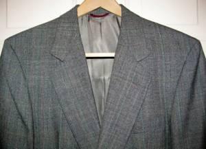 Hart Schaffner and Marx 40R Black Glen Plaid Suit NOS (Pflugerville) for sale  Austin