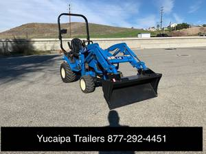 New LS MT125 Sub Compact Tractor * Front Loader Bucket (Yucaipa Trailers, 31107 Outer Hwy 10, Redlands) for sale