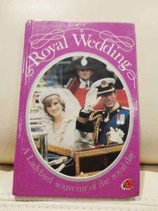 The Royal Wedding -St. Pauls Cathedral July 1981 Ladybird Books (Waterloo, ON) for sale  Detroit