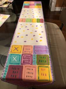 Matching table runners and placemats (Kirkwood), used for sale