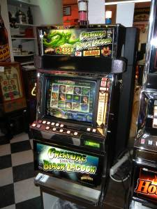 IGT Creature from the Black Lagoon I plus game SLOT MACHINE ********** for sale