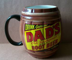Dad's Old Fashioned Root Beer Barrel Mug (Frankford Ave., Baltimore), used for sale