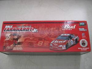 Dale Jr. 2001 Bud Chevy Monte Carlo Raced Version - Revell 1/24 Scale (Port Wentworth), used for sale