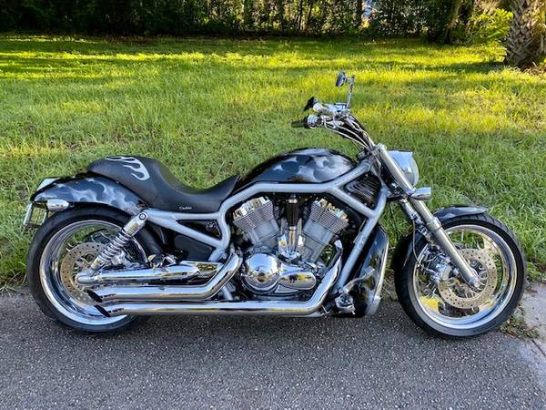 2003 harley v rod 100th anniversary edition only 29k miles $12500...