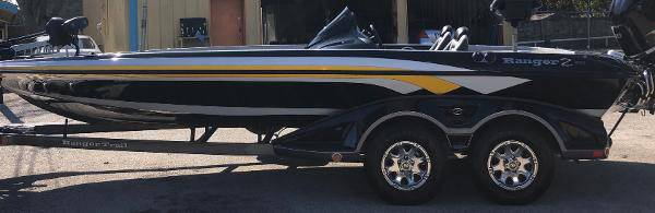 2014 ranger bass boat 22' 250hp nug - boats - by owner - marine sale