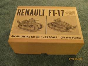 Vintage RARE lead Tank kit (Ann Arbor) for sale  Detroit