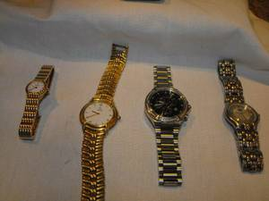 mens, womans  dress/ casual watches, many varieties,  new condition. (andover) for sale  Boston