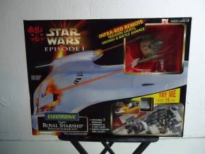 Used, STAR WARS NABOO ROYAL STARSHIP (Livonia) for sale  Detroit