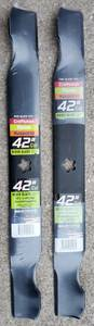 """Used, NEW Riding Lawn Mower Blades 42"""" Cut Craftsman Husqvarna Poulan USA (Lakeside Marblehead) for sale  Detroit"""