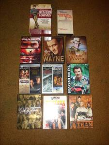 ASSORTED COLLECTION OF MOVIES AND TV SHOWS (Amherst) for sale