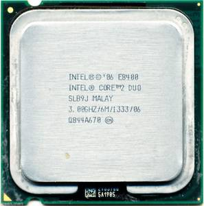 Used, CPU, INTEL E8400 CORE 2 DUO 3.0GHZ (Midtown West) for sale  Boston