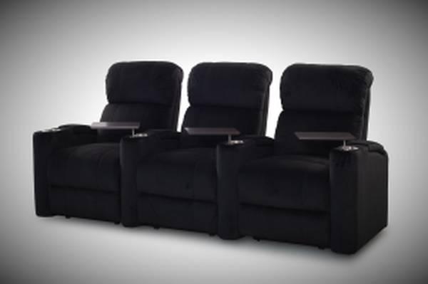 Fusion collection home encore-1010 in black microfiber - furniture -...