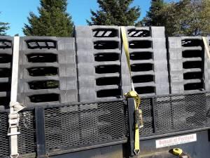 """Plastic pallets!! 43""""\u00d743"""""""" (PORTLAND) for sale  Seattle"""
