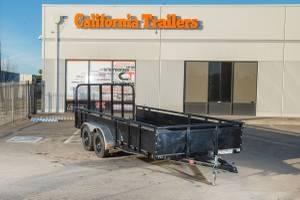 2019 PJ Utility Trailer For Sale @ California Trailers (Eureka) for sale
