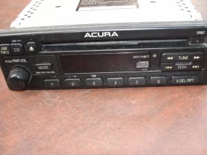 1997 Acura Radio/CD Player #39100-ST7-A500 (Bristol, Pa) for sale