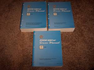 Wanted 2008 Cadillac DTS service repair manual (Shelby Twp) for sale
