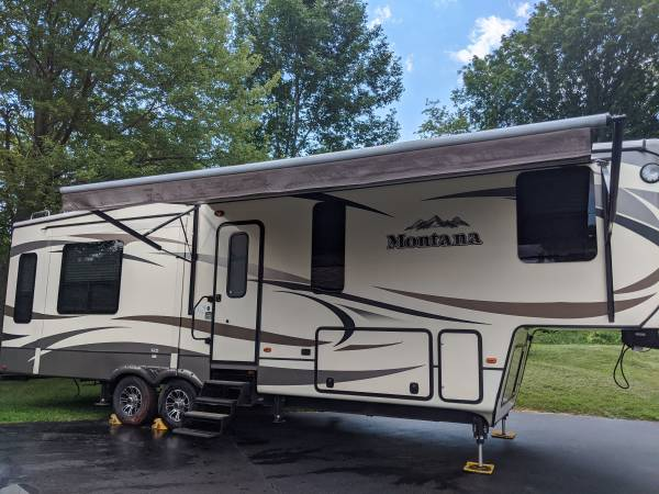 Montana 5th wheel - rvs - by owner - vehicle automotive sale
