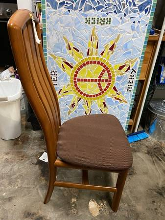 8 stovby denmark kirsebaer dining chairs - furniture - by owner - sale
