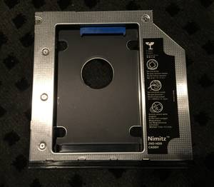 Used, Nimitz 2nd HDD SSD Hard Drive Caddy for Hp Zbook 15 or 17 with Bezel (Ashburn (Near One Loudoun)) for sale