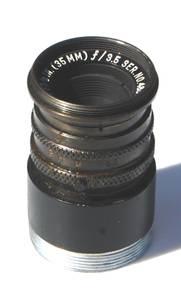 Used, 35mm f3.5 WOLLENSAK FIXED FOCUS C-MOUNT LENS (Tucson) for sale  Phoenix