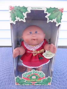 """12"""" Cabbage Patch Kids Holiday Baby Dolls MIB (Brandywine) for sale"""