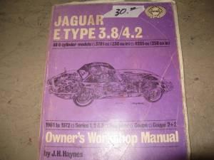 Jaguar shop manuals for sale