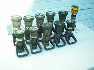 """Fire Hose Nozzles 1"""" & 1.5"""" Adjustable (Stanwood) for sale  Seattle"""