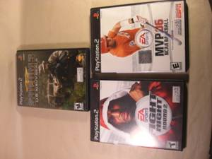 PS2 games (Helena) for sale