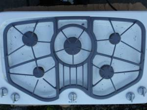 JENN AIR 5 Burner Gas Cooktop (Homer Glen) for sale