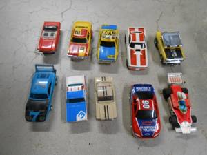 WANTED OLD SLOT CARS 1/64 SCALE AFX TYCO THUNDERJET T-JET 500 AURORA (TOPEKA, KANSAS) for sale