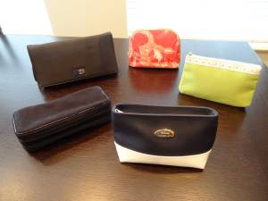 BRAND NEW NEVER USED!  1 SET of Mixed Cosmetic Makeup Pouch/Tote/Bag for sale