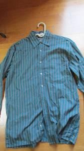 Men's Dress Shirt - Green Haggar size M (northford) for sale  Boston