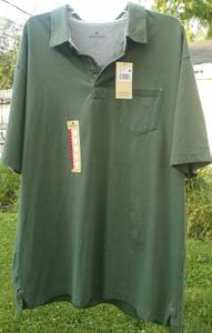 Used, BRAND NEW Woolrich Sage Polo Shirt XL (LOMBARD) for sale