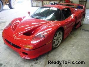 2010 Ferrari 458 - Needs Some Work - Repairable Ferrari / Lamborghini (Boston, MA) for sale  Boston