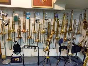Gently used Band Instruments; clarinet flute sax, trumpet trombone. (4422  Durham Chapel Hill Blvd.) for sale